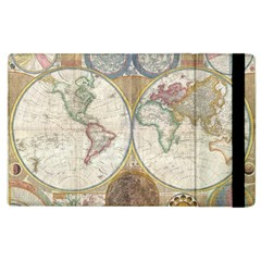 1794 World Map Apple Ipad 2 Flip Case