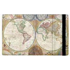 1794 World Map Apple iPad 3/4 Flip Case