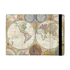 1794 World Map Apple iPad Mini Flip Case