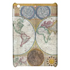 1794 World Map Apple Ipad Mini Hardshell Case