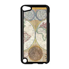 1794 World Map Apple iPod Touch 5 Case (Black)