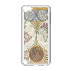 1794 World Map Apple iPod Touch 5 Case (White)