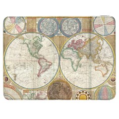 1794 World Map Samsung Galaxy Tab 7  P1000 Flip Case