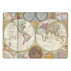 1794 World Map Samsung Galaxy Tab 10.1  P7500 Flip Case