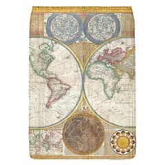 1794 World Map Removable Flap Cover (large)