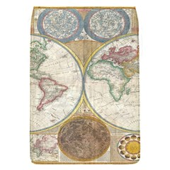 1794 World Map Removable Flap Cover (Small)