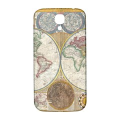 1794 World Map Samsung Galaxy S4 I9500/I9505  Hardshell Back Case