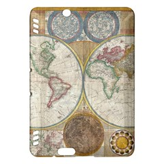 1794 World Map Kindle Fire HDX 7  Hardshell Case