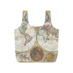 1794 World Map Reusable Bag (s)