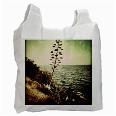 Sète White Reusable Bag (two Sides)