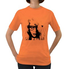 Hipster Zombie Girl Women s T Shirt (colored)