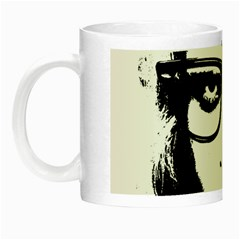 Hipster Zombie Girl Glow in the Dark Mug