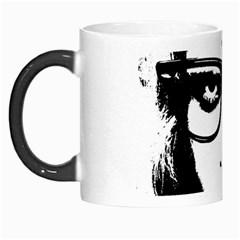 Hipster Zombie Girl Morph Mug