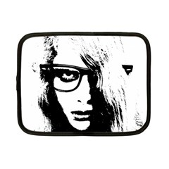 Hipster Zombie Girl Netbook Sleeve (small)
