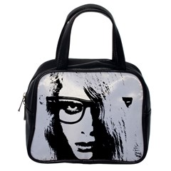 Hipster Zombie Girl Classic Handbag (one Side)