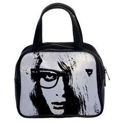 Hipster Zombie Girl Classic Handbag (Two Sides)