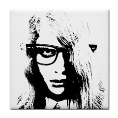 Hipster Zombie Girl Face Towel