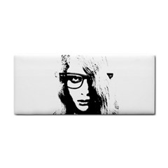 Hipster Zombie Girl Hand Towel