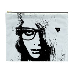 Hipster Zombie Girl Cosmetic Bag (xl)