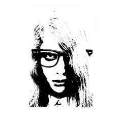 Hipster Zombie Girl Memory Card Reader (rectangular)