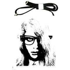 Hipster Zombie Girl Shoulder Sling Bag