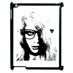 Hipster Zombie Girl Apple Ipad 2 Case (black)