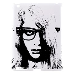 Hipster Zombie Girl Apple iPad 3/4 Hardshell Case (Compatible with Smart Cover)
