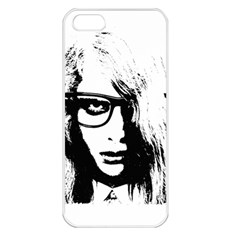 Hipster Zombie Girl Apple Iphone 5 Seamless Case (white)