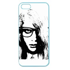 Hipster Zombie Girl Apple Seamless Iphone 5 Case (color)