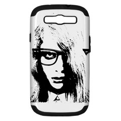 Hipster Zombie Girl Samsung Galaxy S Iii Hardshell Case (pc+silicone)