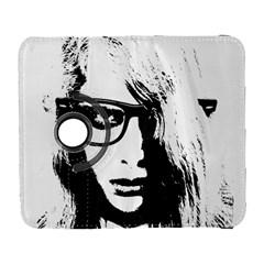 Hipster Zombie Girl Samsung Galaxy S  III Flip 360 Case
