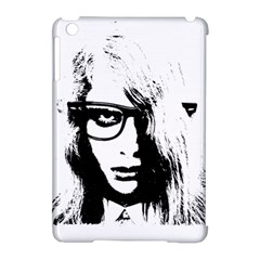 Hipster Zombie Girl Apple Ipad Mini Hardshell Case (compatible With Smart Cover)