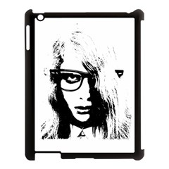Hipster Zombie Girl Apple iPad 3/4 Case (Black)