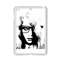 Hipster Zombie Girl Apple Ipad Mini 2 Case (white)