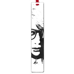 Hipster Zombie Girl Large Bookmark