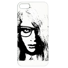Hipster Zombie Girl Apple Iphone 5 Hardshell Case With Stand