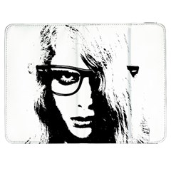 Hipster Zombie Girl Samsung Galaxy Tab 7  P1000 Flip Case