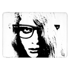 Hipster Zombie Girl Samsung Galaxy Tab 8.9  P7300 Flip Case