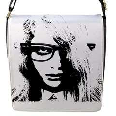 Hipster Zombie Girl Removable Flap Cover (small)