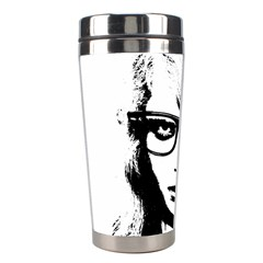Hipster Zombie Girl Stainless Steel Travel Tumbler