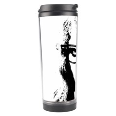 Hipster Zombie Girl Travel Tumbler