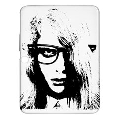 Hipster Zombie Girl Samsung Galaxy Tab 3 (10.1 ) P5200 Hardshell Case