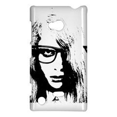 Hipster Zombie Girl Nokia Lumia 720 Hardshell Case