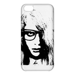 Hipster Zombie Girl Apple iPhone 5C Hardshell Case