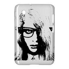 Hipster Zombie Girl Samsung Galaxy Tab 2 (7 ) P3100 Hardshell Case