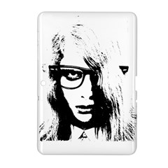 Hipster Zombie Girl Samsung Galaxy Tab 2 (10 1 ) P5100 Hardshell Case