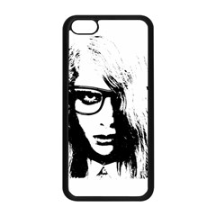 Hipster Zombie Girl Apple iPhone 5C Seamless Case (Black)