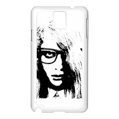 Hipster Zombie Girl Samsung Galaxy Note 3 N9005 Case (white)