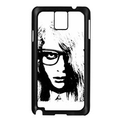 Hipster Zombie Girl Samsung Galaxy Note 3 N9005 Case (black)