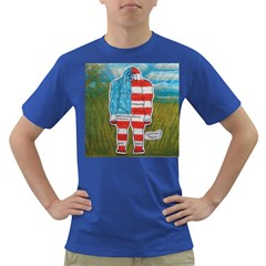 Painted Flag Big Foot Austral Men s T Shirt (colored)